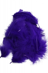 Marabou Full Down loose purple, 10g PACK