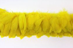 Cock Tails 10-15cm yellow, Strung Rowed