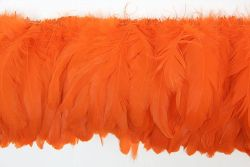 Cock Tails 15-20cm orange, Strung Rowed