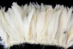 Cock Tails 15-20cm natural, Strung Rowed
