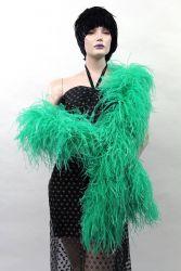Straußenboa Tanzsport emerald 2m